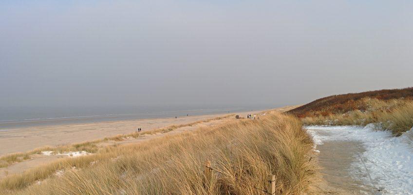 Spiekeroog, Weg am Strand
