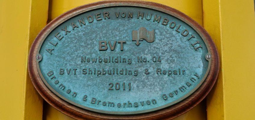 JWPC 2012, Plakette Alexander von Humbold II