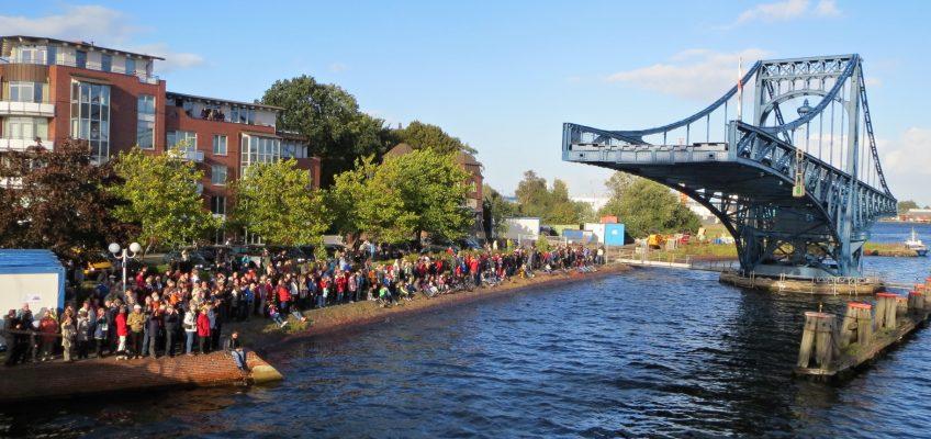 JWPC 2012, Einlaufen am Bontekai