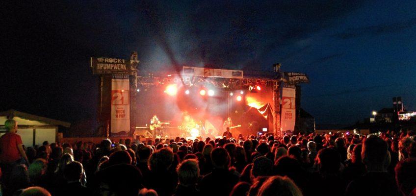 Wochenende an der Jade 2014, Bühne am Südstrand