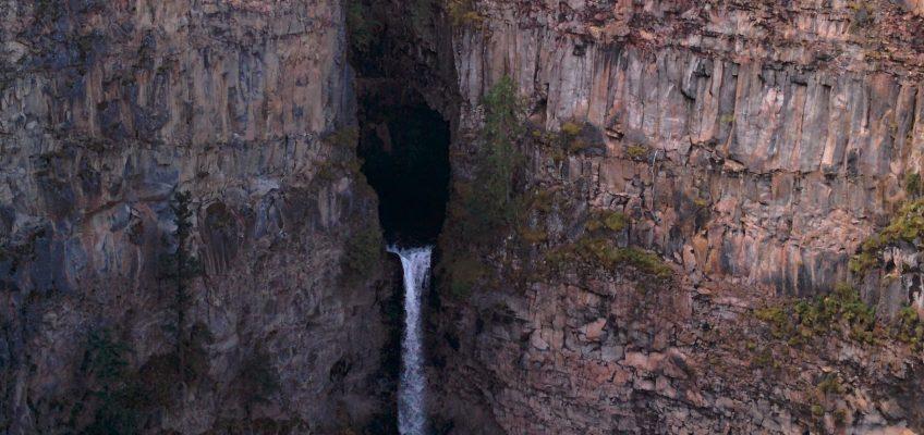 Wells Gray Provincial Park - Spahats Falls