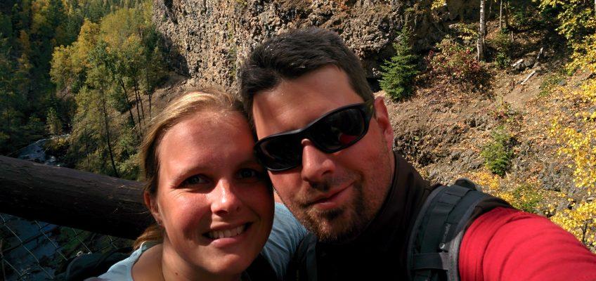 Wells Grey Provincial Park - Selfi Moul Falls
