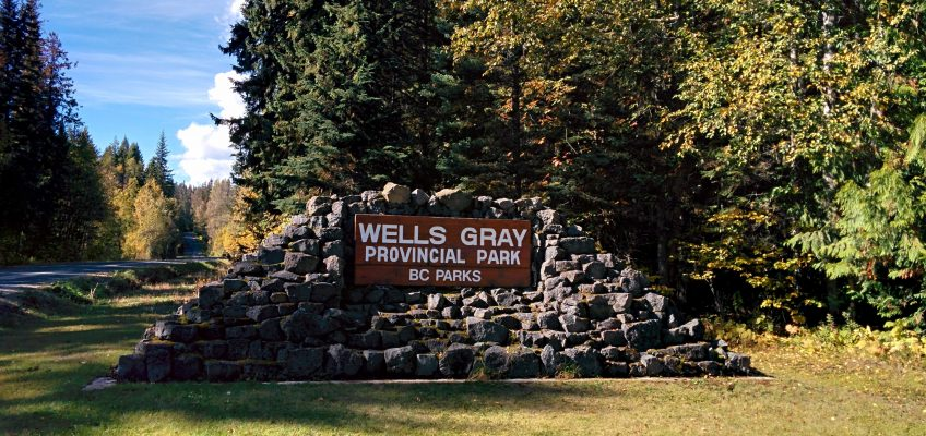Wells Gray Provincial Park - Eingang