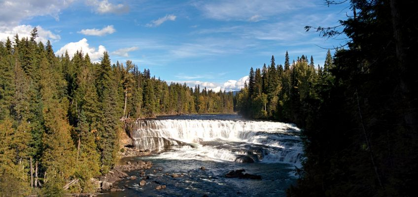 Wells Gray Provincial Park - Dawson Falls