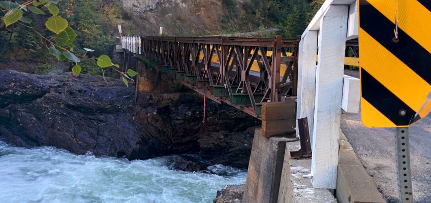 Wells Grey Provincial Park - Brücke