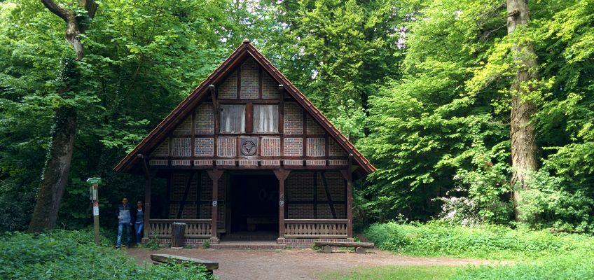 Neuenburger Urwald - Jagthütte